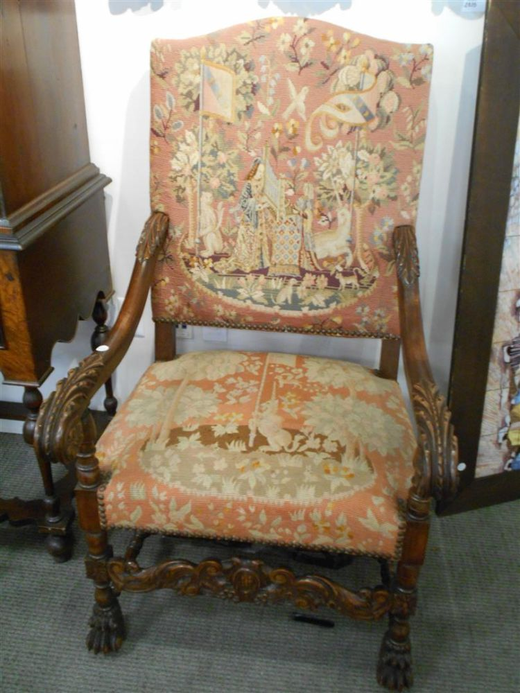pair of louis xiv style walnut fauteuil sale number 2835b lot number 391 skinner auctioneers. Black Bedroom Furniture Sets. Home Design Ideas
