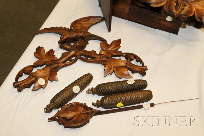 Black Forest Cuckoo and Quail Clock