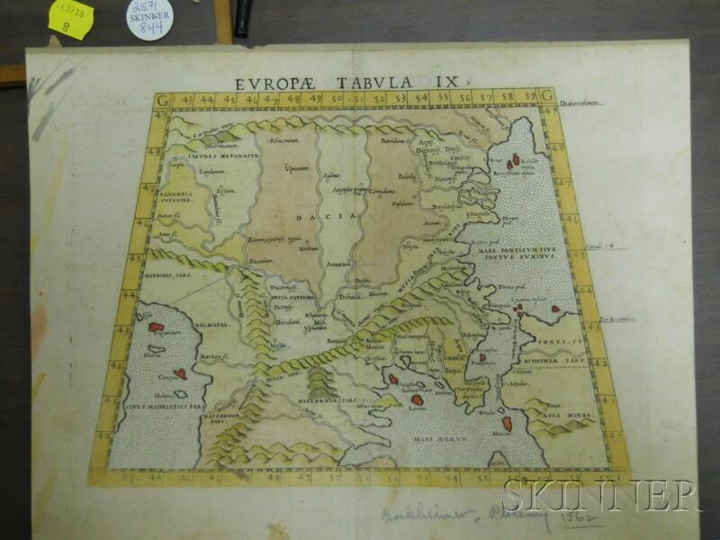 (Maps and Charts, Europe), Castaldi, Giacomo (Italian, 16th Century)