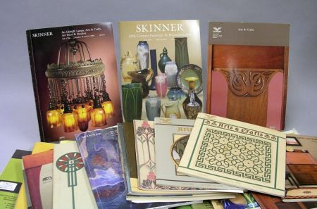 Collection of Arts & Crafts Related Auction Catalogues and Periodicals.