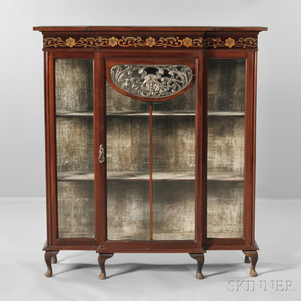 Art Nouveau China Cabinet