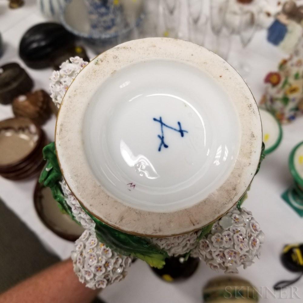 Four Pieces of Continental Porcelain