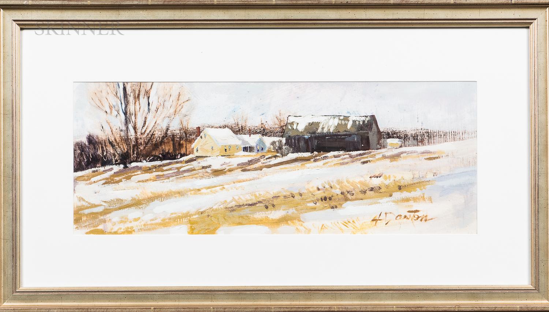 Harry Dayton (American, 20th/21st Century)      Holden Hill Winter I