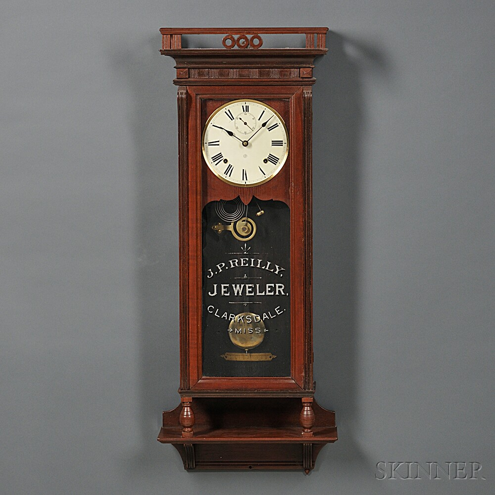 Seth Thomas Suez Wall Clock Sale Number 2760m Lot Number 494 Skinner Auctioneers