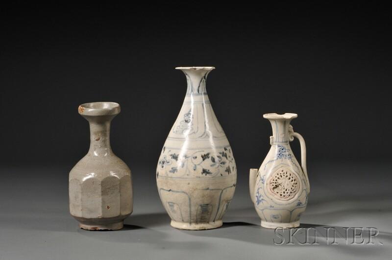 Three Porcelain Vases