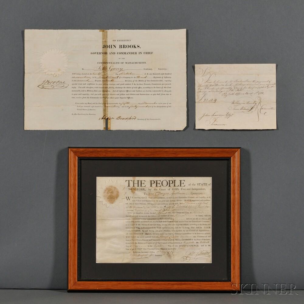 Three Military Documents