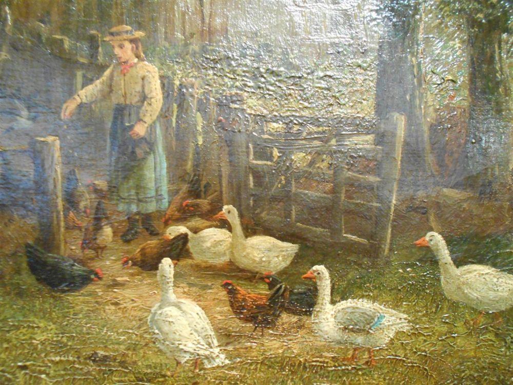 Henry John Yeend King (British, 1855-1924)      Lunchtime