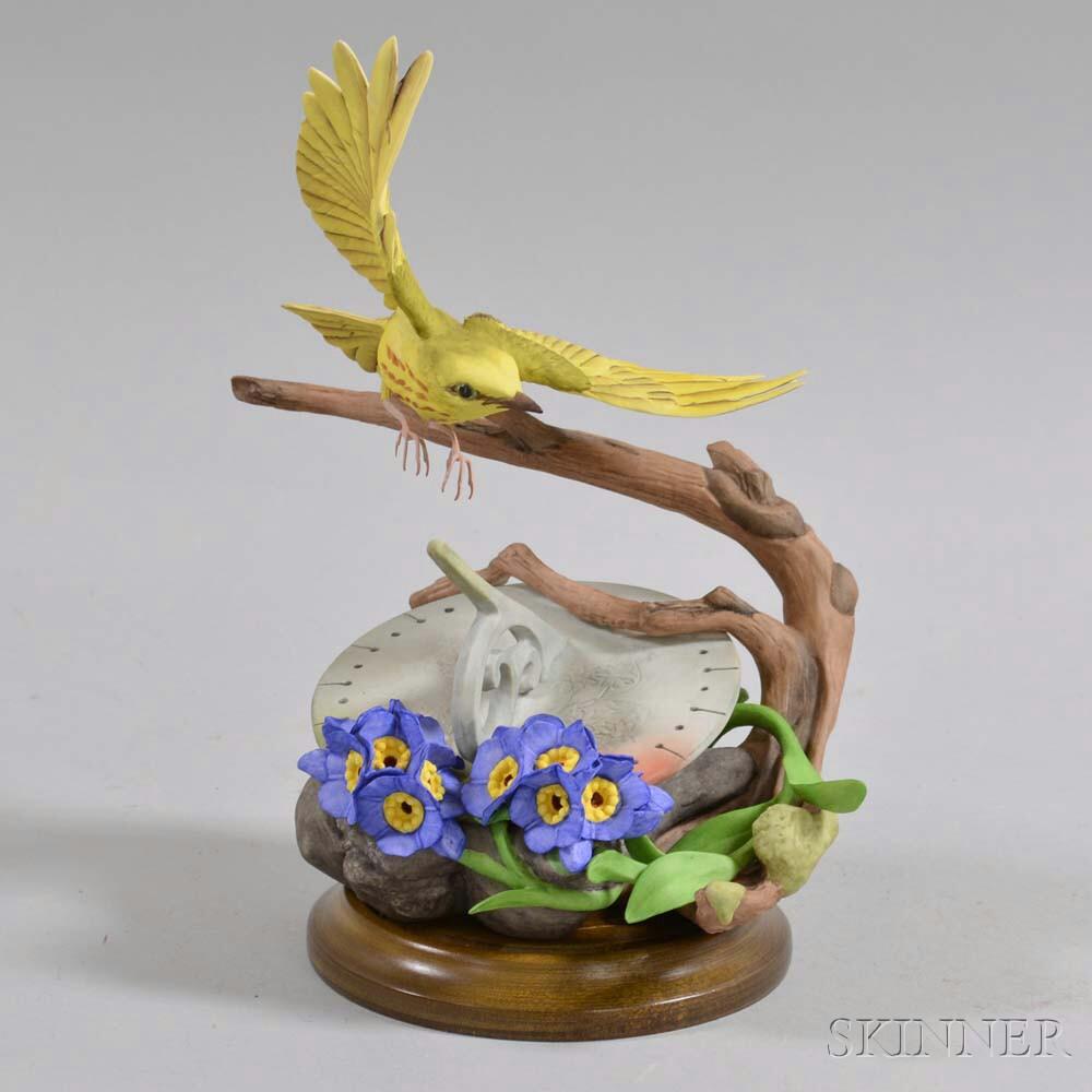 "Boehm ""Yellow Warbler"" Porcelain Figure"