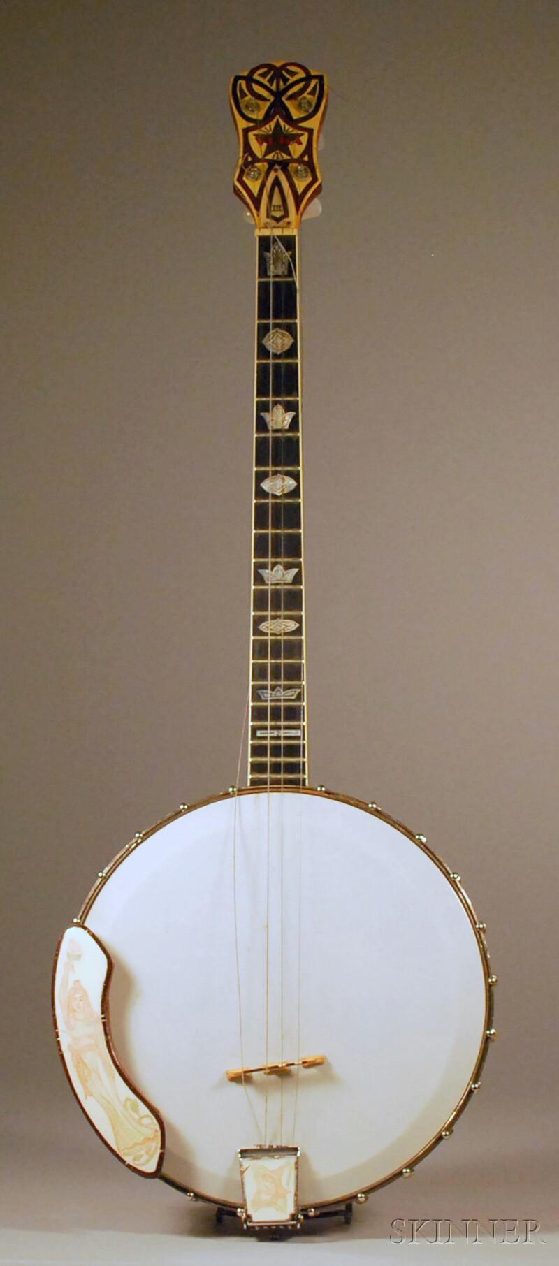 American Tenor Banjo, The Vega Company, Boston, c. 1925