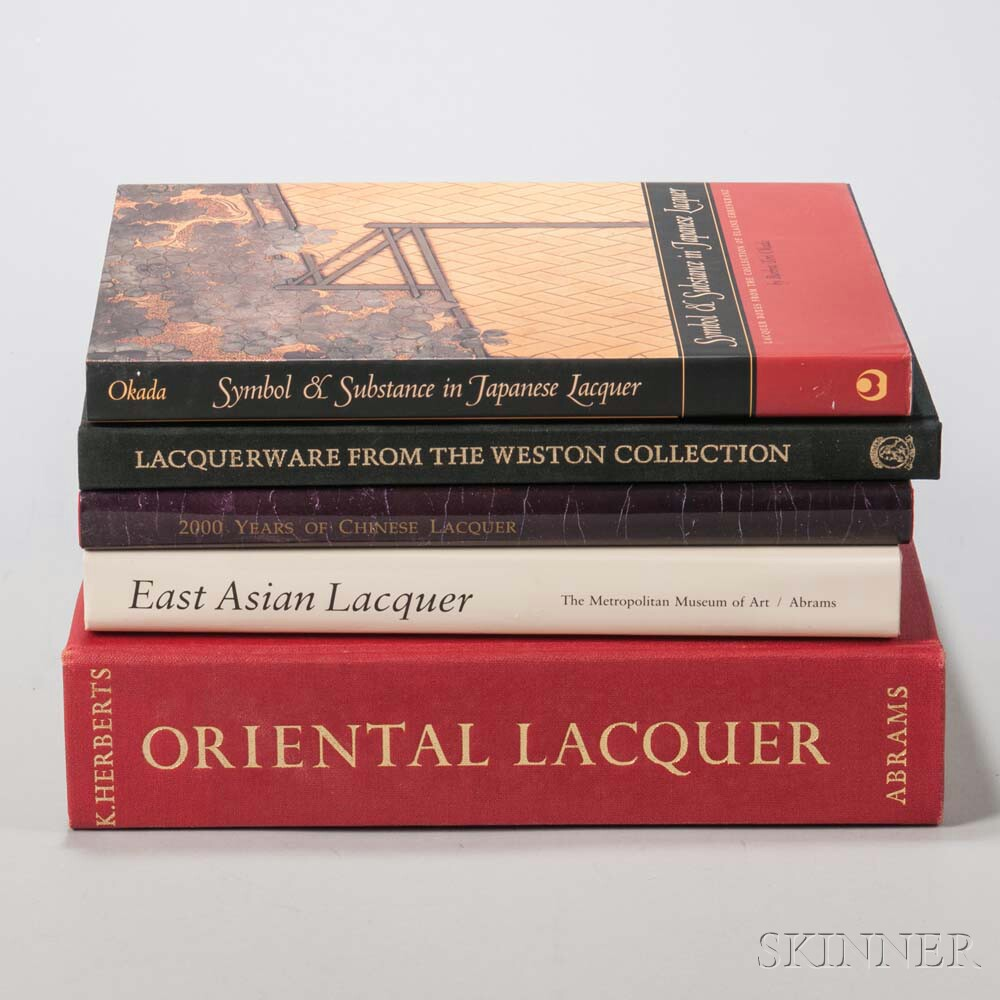 Five Books on East Asian Lacquer