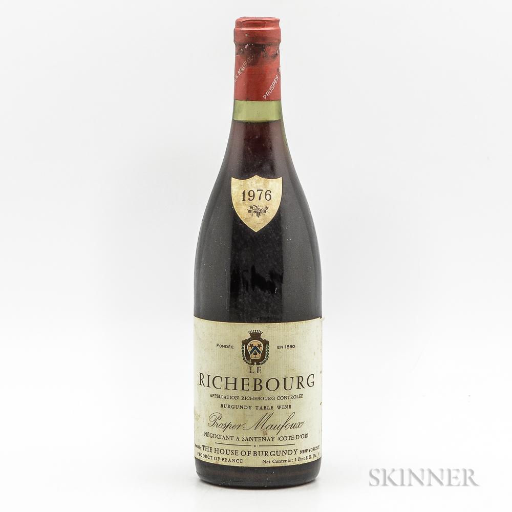 Prosper Maufoux Le Richebourg 1976, 1 bottle