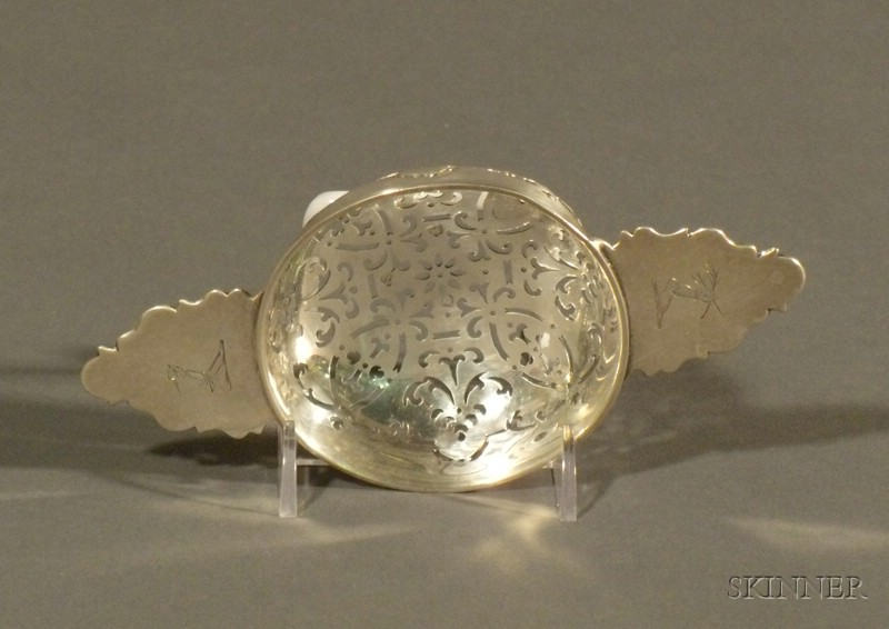 George III Silver Punch Strainer