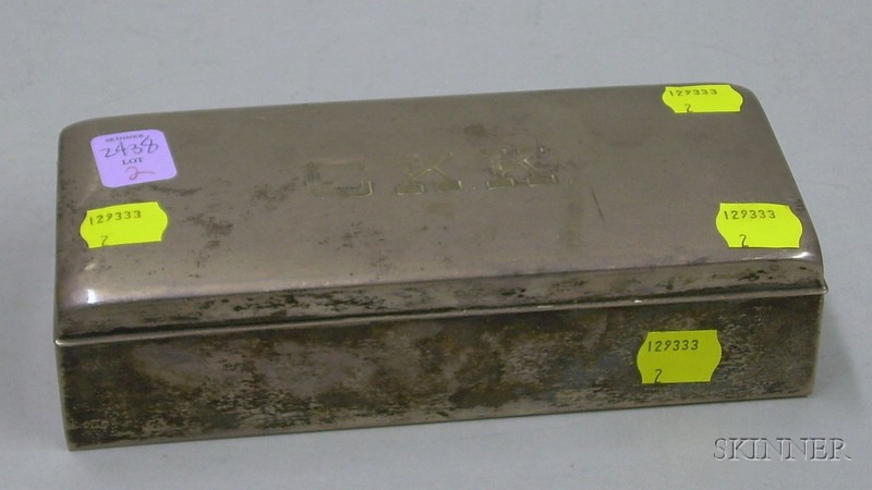 Poole Sterling Silver Box