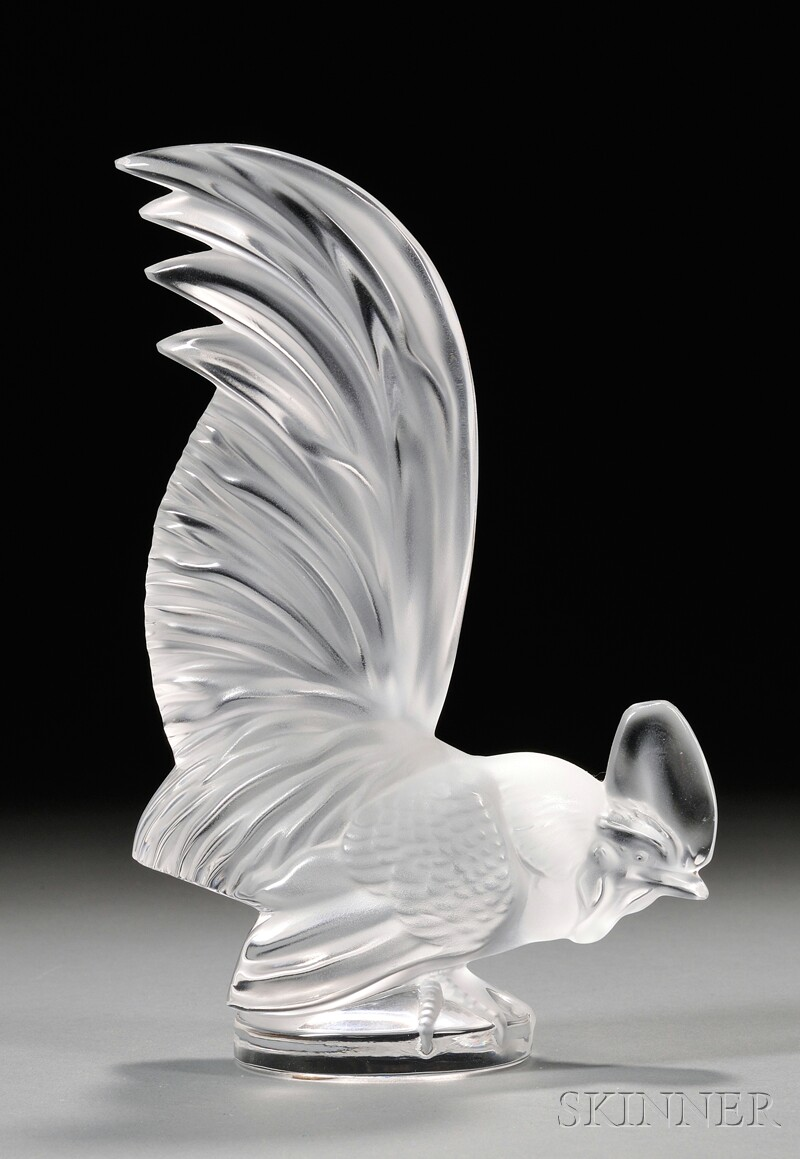 Lalique Rooster Figure