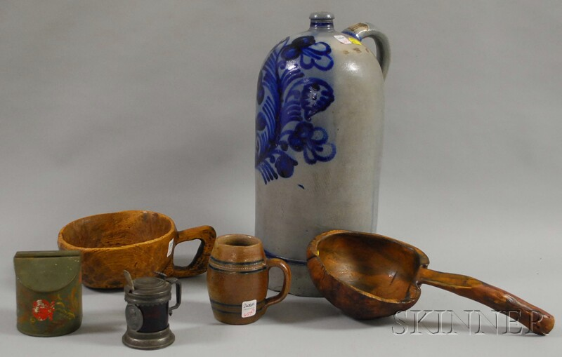 Seven Assorted Household Items