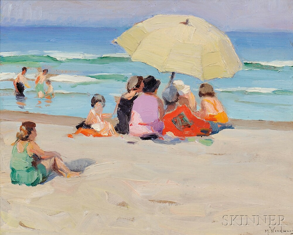 Mabel May Woodward (American, 1877-1945)      A Colorful Group