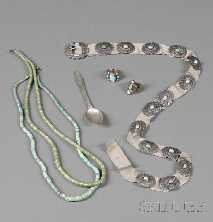 Six Southwest Jewelry Items