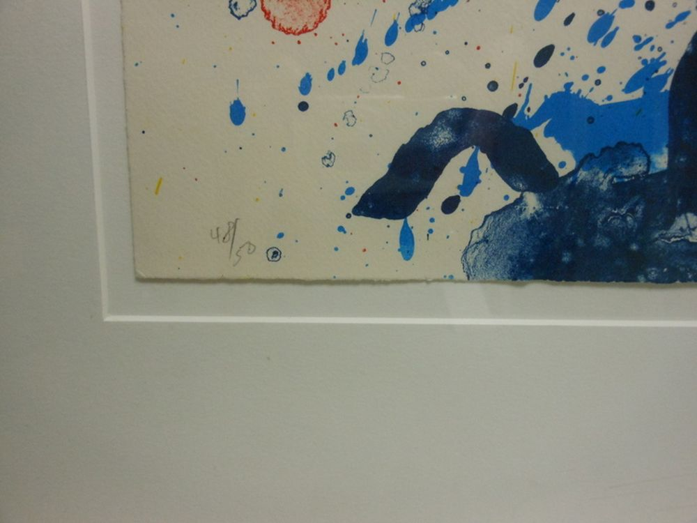 Sam Francis (American, 1923-1994)      Untitled (SF-308)