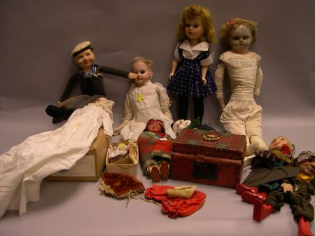 Ten Dolls of Miscellaneous Types