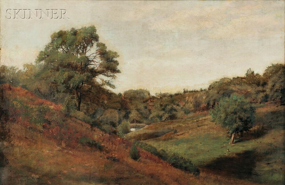 Alexander Helwig Wyant (American, 1836-1892)      Late Summer Landscape