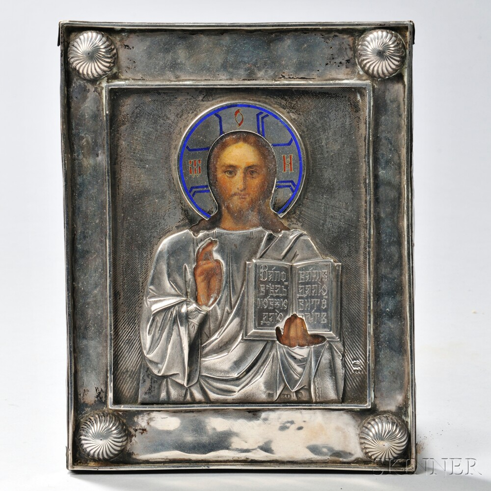 Russian Icon Depicting the Almighty Lord