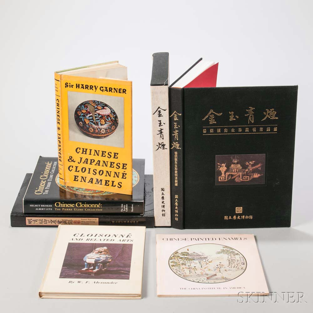 Six Books on Chinese Minor Arts: Metalwork and Cloisonne