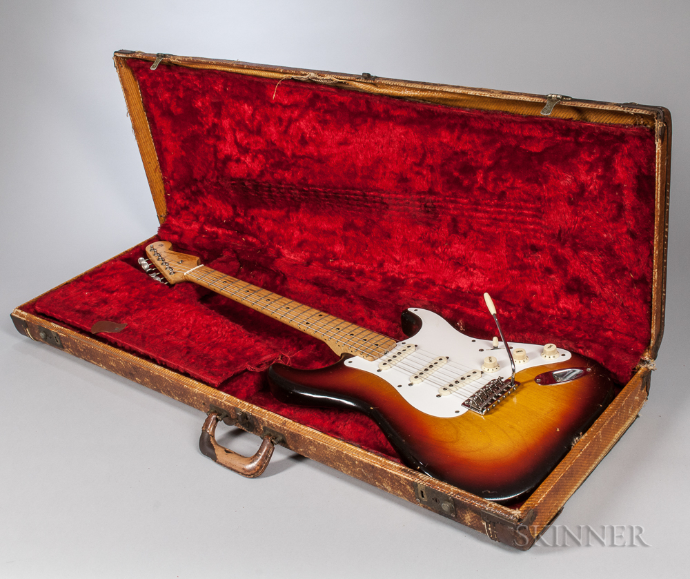 Fender Stratocaster Electric Guitar, 1958