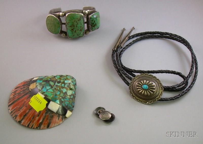 Three Southwestern Jewelry Items