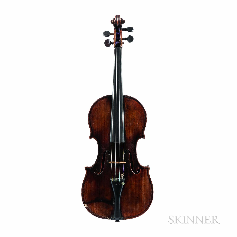 Violin, Viennese School, c. 1810, Attributed to Franz Geissenhof