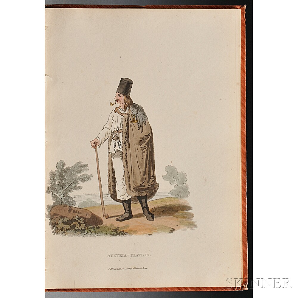 Alexander, William (1767-1816) Costumes of Austria. Fifty Plates Coloured from the Original Drawings.
