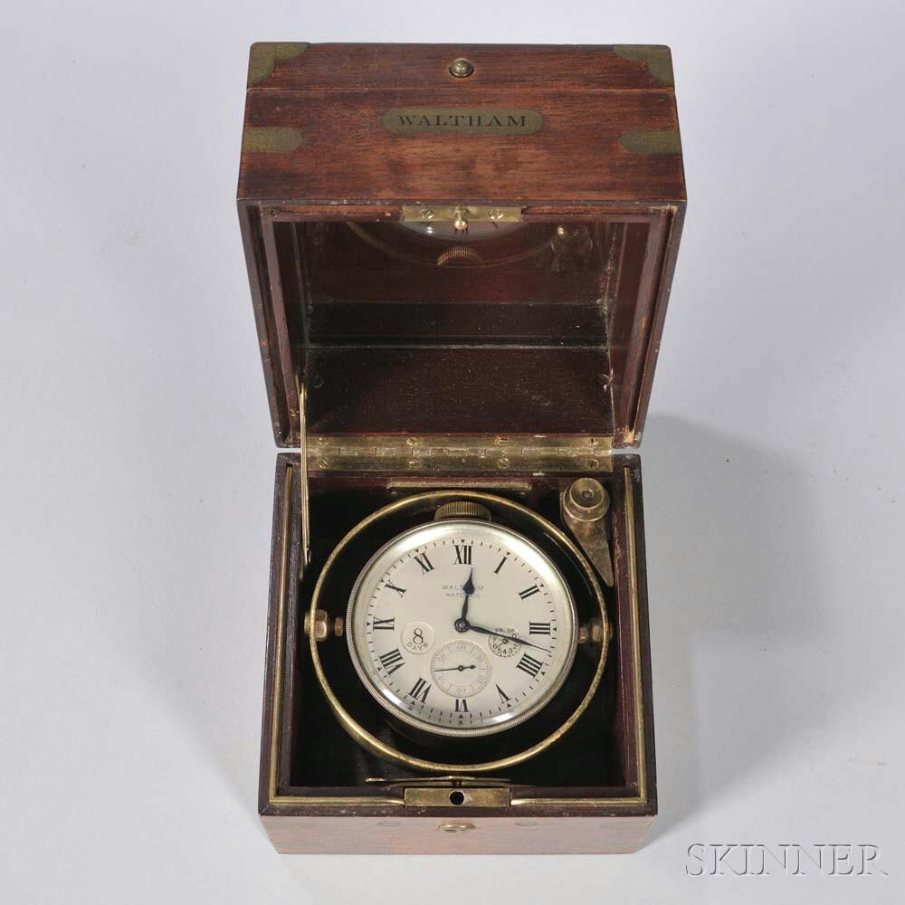 Waltham Eight-day Deck Watch