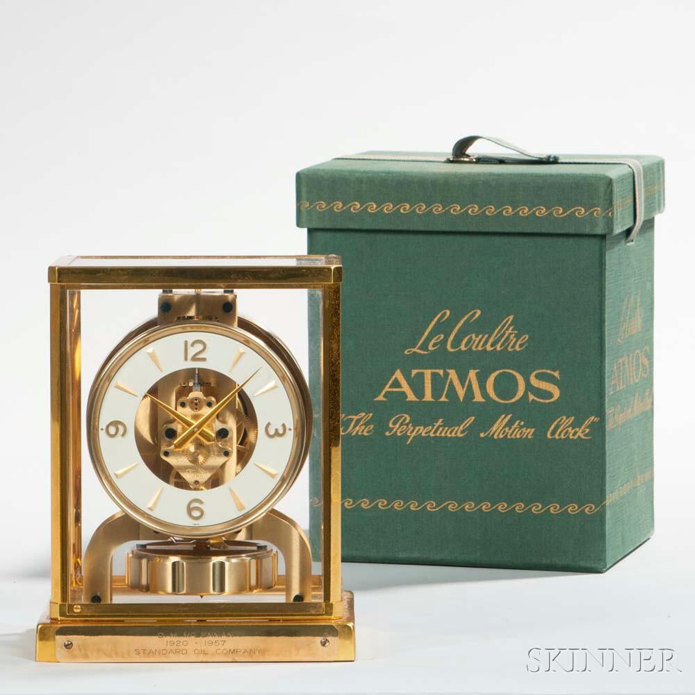 LeCoultre Atmos Clock with Original Box