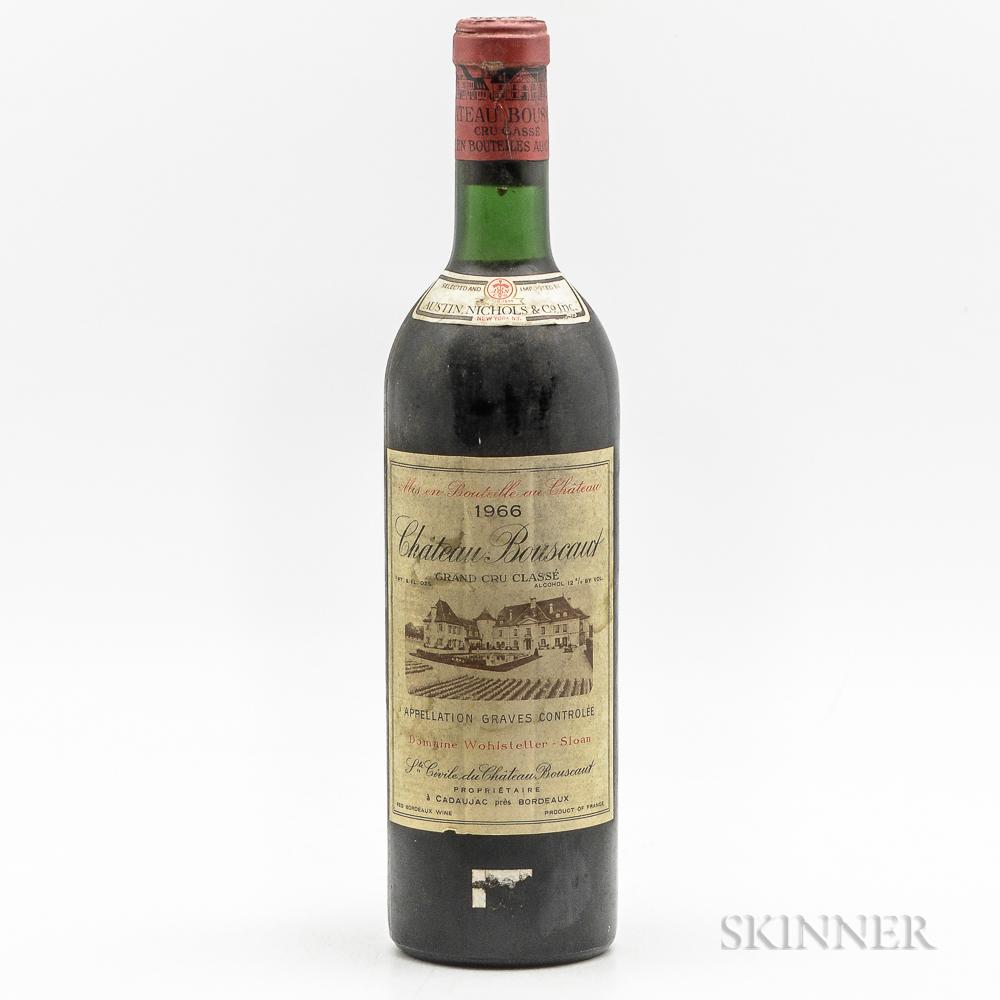 Chateau Bouscaut 1966, 1 bottle