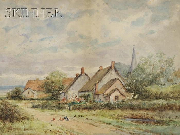Mildred Anne Butler (Irish, 1858-1941)      Quiet Village