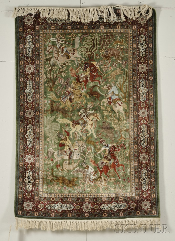 Indian Pictorial Rug