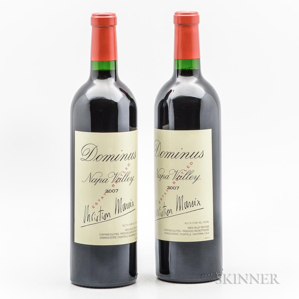 Dominus Estate 2007, 2 bottles