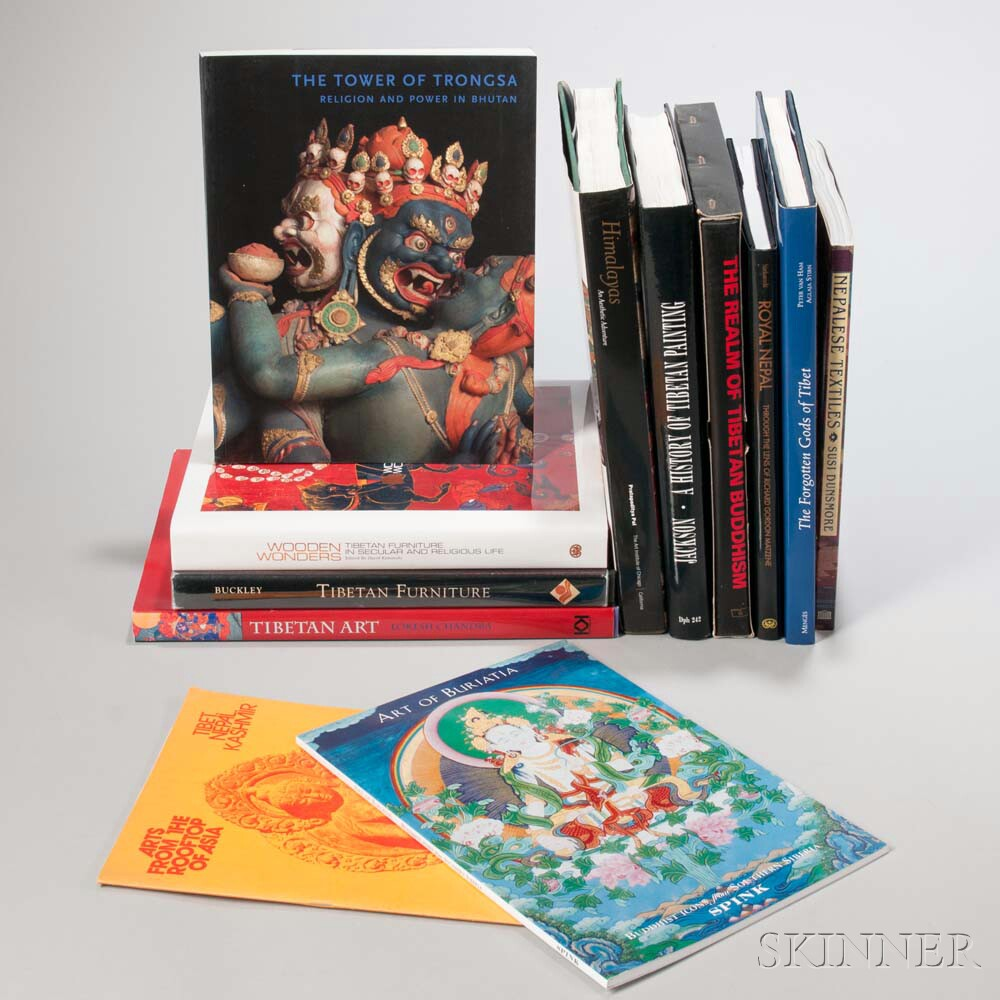 Twelve Books on Tibet and the Himalayas