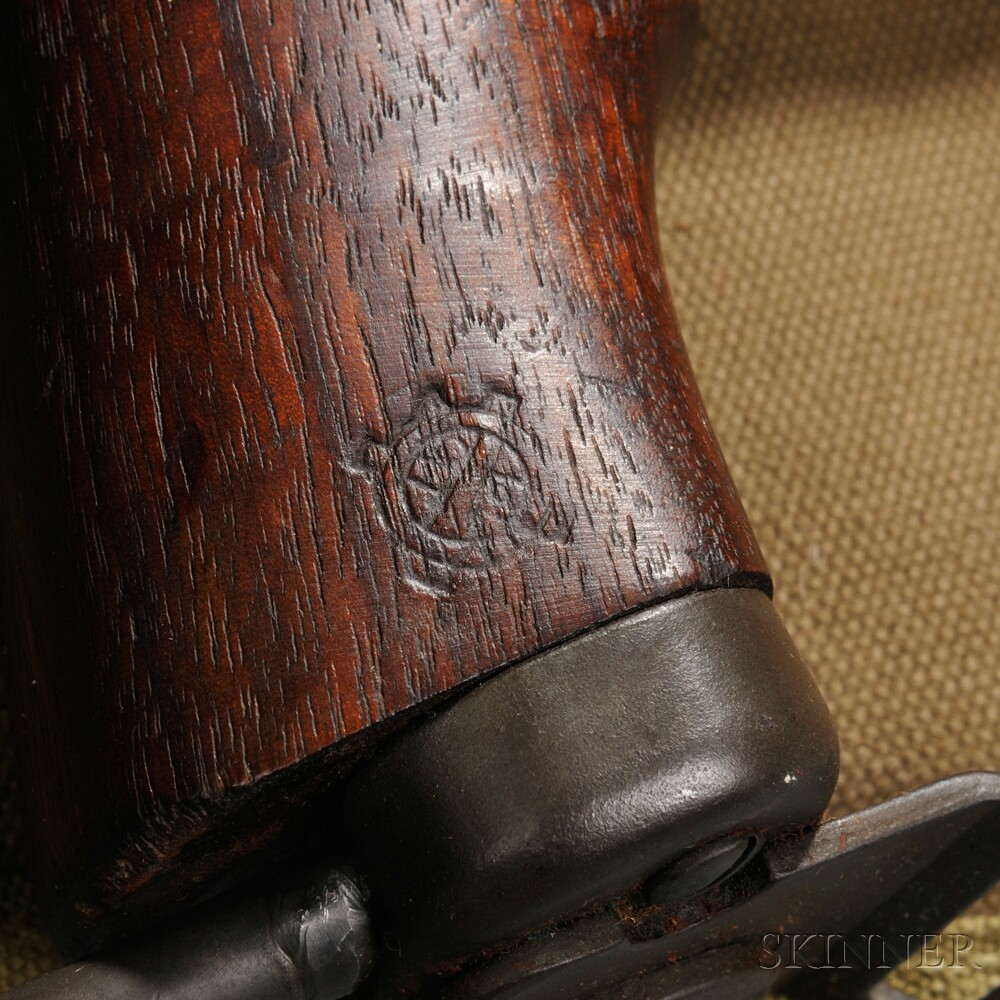M1A1 Carbine Folding Stock and Canvas Leg Scabbard