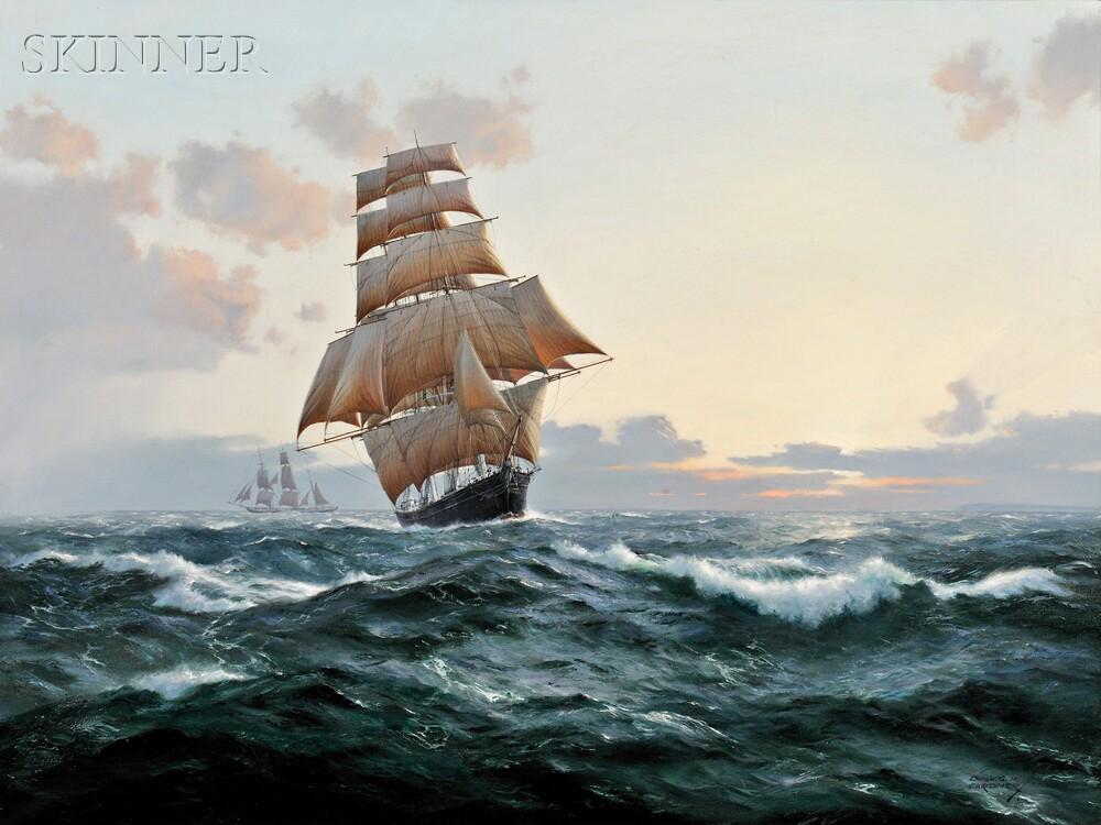Derek George Montague Gardner (British, 1914-2007)      Sovereign of The Seas