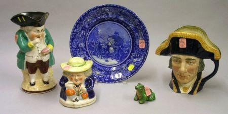 Five Assorted Ceramic Items