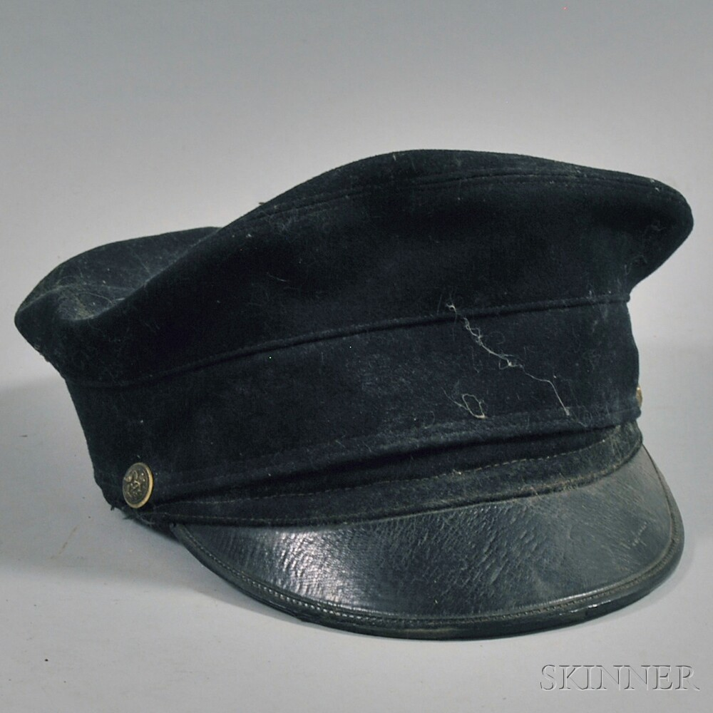 Late 19th Century Wool Naval Cap
