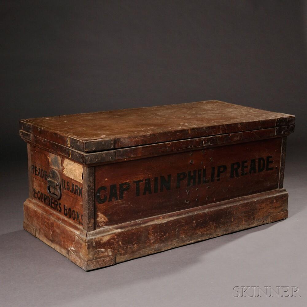 Record's Book Trunk of Captain Philip Reade