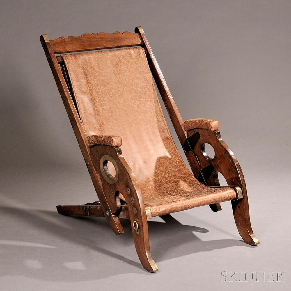 Teak Wood Adjustable Yacht Chair