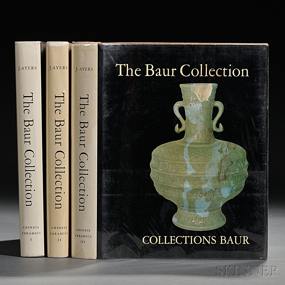 The Baur Collection, Chinese Ceramics  , Volumes I-III.