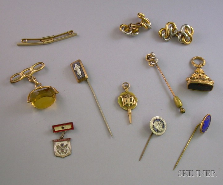 Group of Men's Estate Jewelry