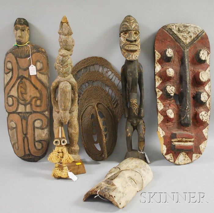 Group of African and Ethnographic Material