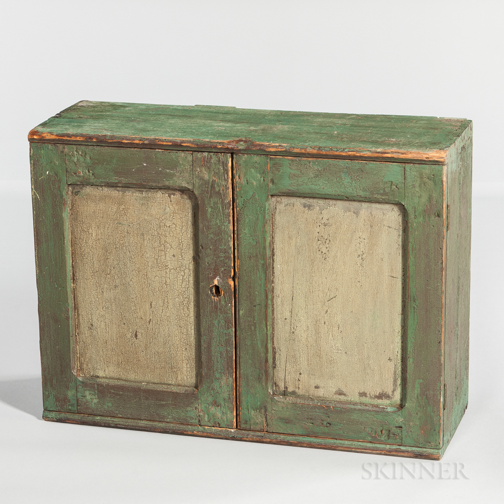 Small Painted Wall Cupboard