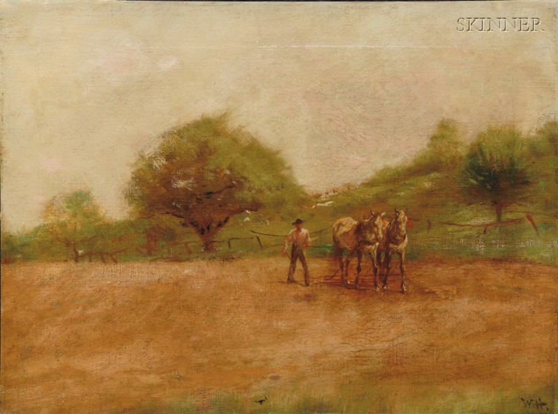 Attributed to William Henry Howe (American, 1846-1929)      On the Ranch