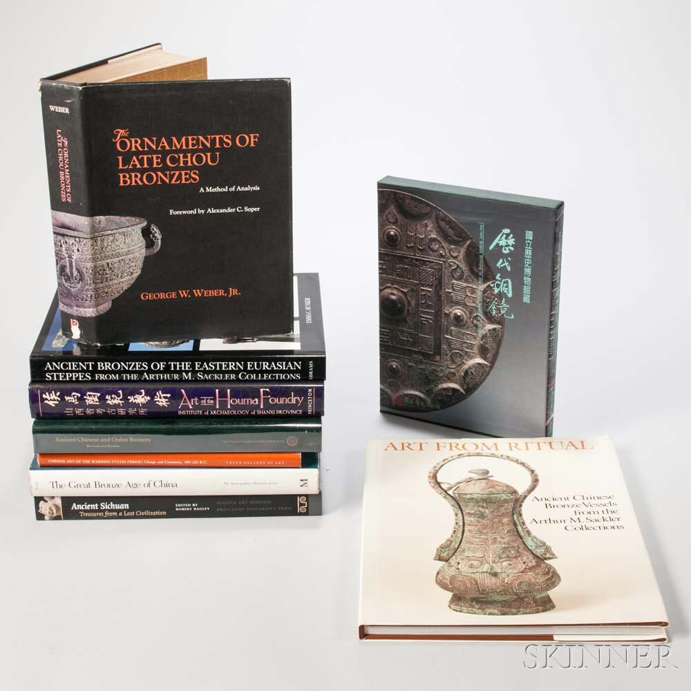 Nine Books on Chinese Bronzes