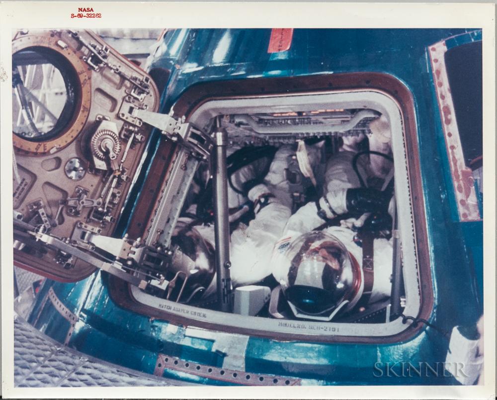 Apollo 11, Four Crew Photographs.